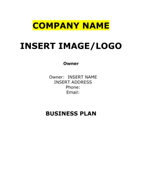 Bridal shop business plan sample