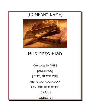 business law business plan Information on writing a law firm business plan that will stand out among others to give you the needed boost in your profession.